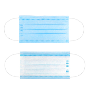 China Disposable 3 Ply Non Woven Anti Virus Dust Earloop Dental Medical Surgery Surgical Face Mask