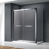 LUCK Hotel custom toughened glass integral unit cabin design bathroom shower