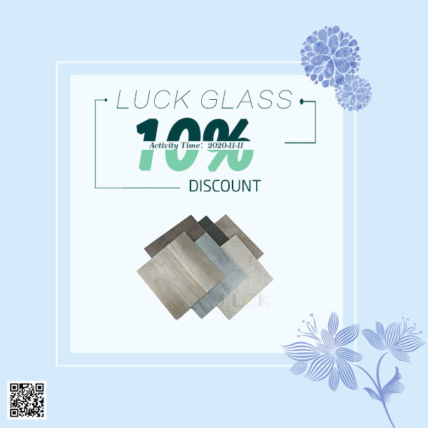 【 LUCK 】 Double 11 Carnival, 10% off new products