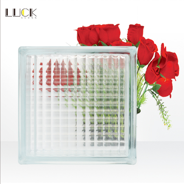 Good Quality 190x190x80mm Glass Block for Building Decoration