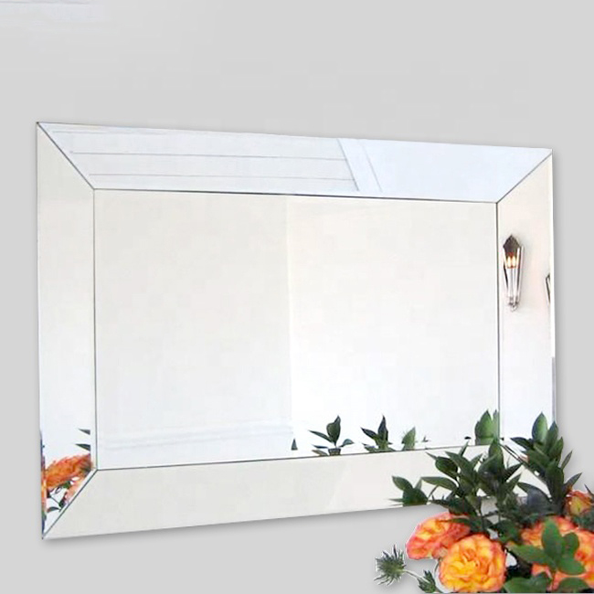 Bathroom tempered glass mirror