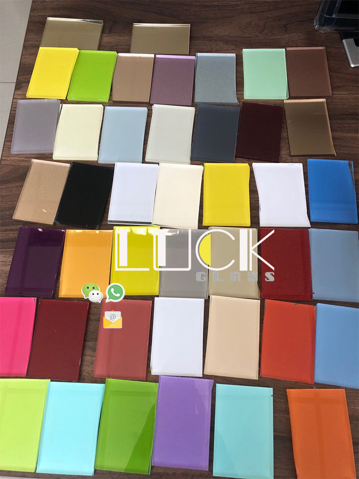 Manufacturers direct sales tempered paint glass wardrobe, cabinet door